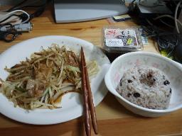 20050807 夕食