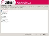 Debian Etch tasksel number 1
